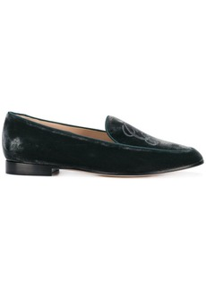 Armani distressed loafers