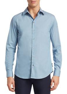 Armani Dot Button-Down Shirt
