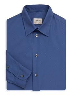 Armani Dotted Regular-Fit Shirt