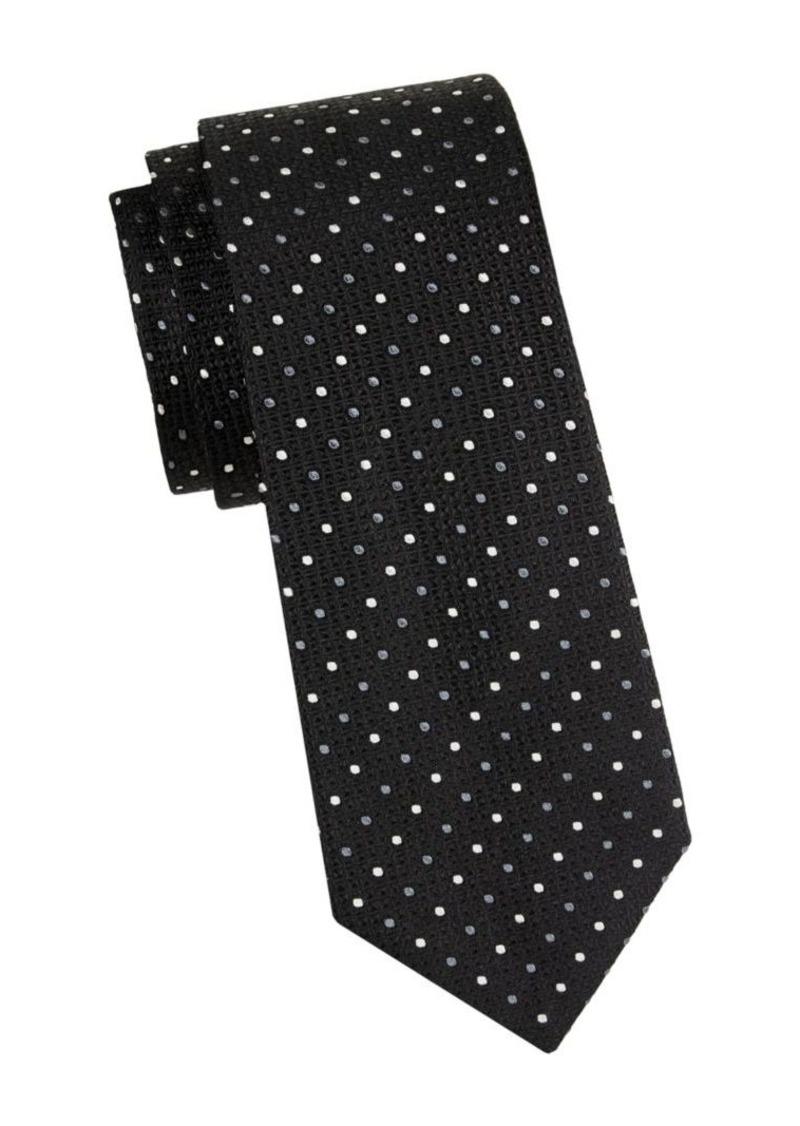 Armani Dotted Silk Tie