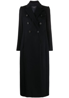 Armani double-breasted long coat