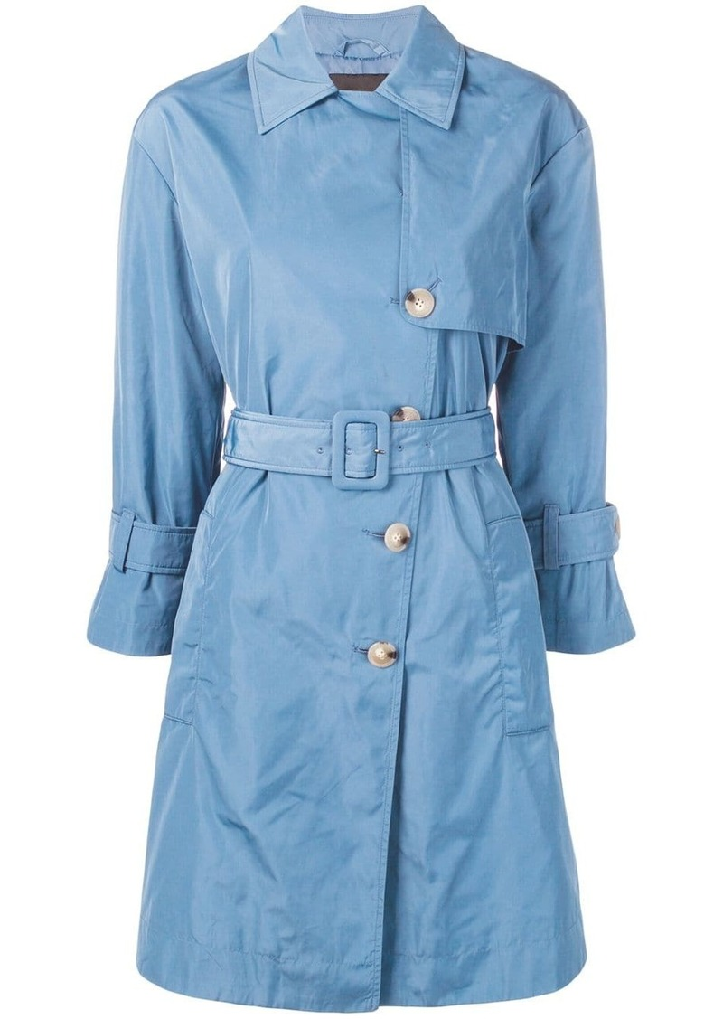 Armani double-breasted trench coat