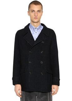 Armani Double Breasted Wool Coat