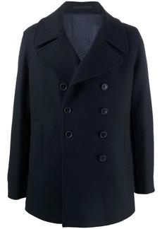Armani double-breasted wool coat