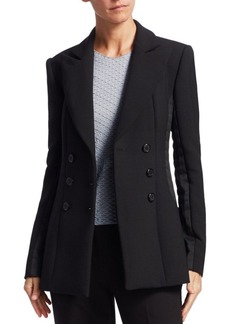 Armani Double-Breasted Wool Jacket