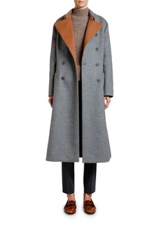 Armani Double-Face Cashmere Coat
