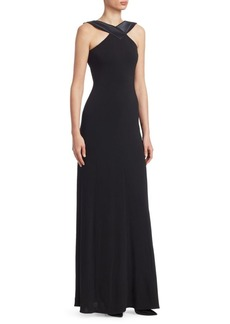 Armani Double-Face Jersey Gown