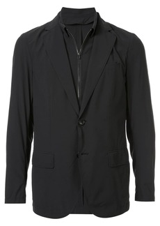 Armani double layer blazer