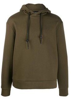 Armani drawstring hoodie