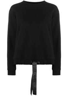 Armani drawstring sweatshirt