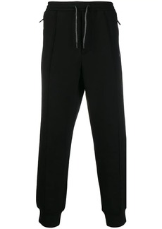 Armani drawstring track trousers