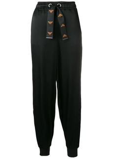 Armani drawstring waist trousers