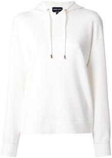 Armani drop shoulder hoodie