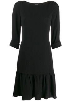 Armani drop-waist shift dress