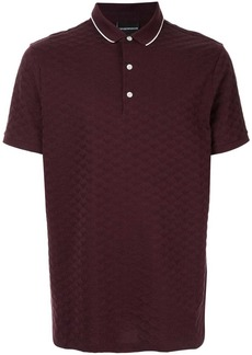 Armani eagle logo polo shirt