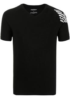 Armani eagle logo-print T-shirt