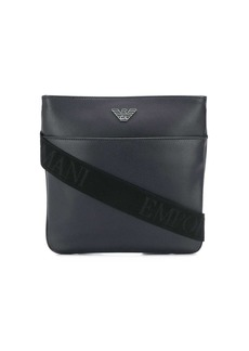 Armani eagle logo shoulder bag