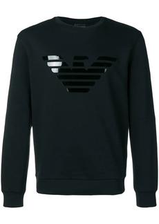 Armani eagle logo sweatshirt