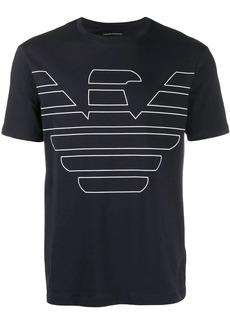 Armani eagle logo T-shirt
