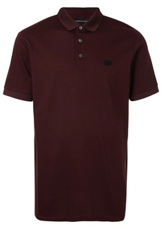 Armani eagle patch polo shirt