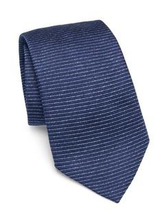 Armani Eclipse Striped Silk Tie