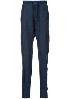 Armani elasticated waist trousers
