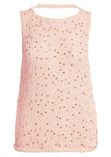 Armani Embellished Knit Shell