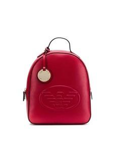 Armani embossed backpack