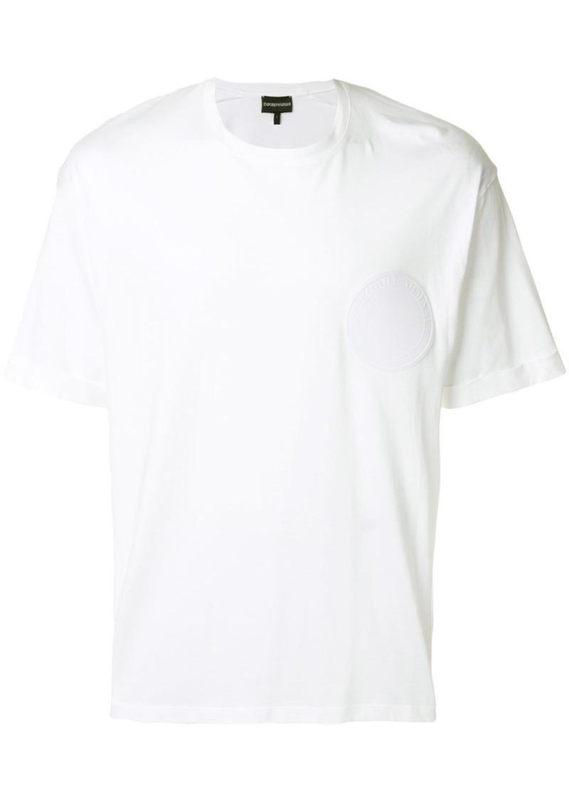 Armani embossed logo T-shirt
