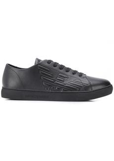 Armani embossed sneakers