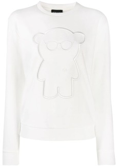 Armani embroidered detail jumper