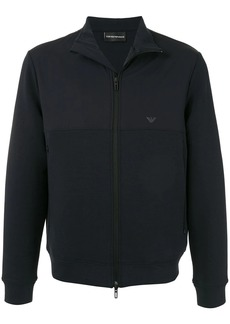 Armani embroidered logo jacket