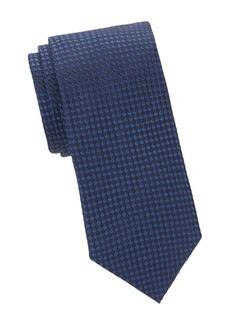 Armani Embroidered Silk Tie