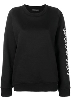 Armani embroidered sleeve jersey