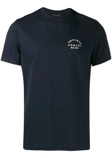 Armani embroidered T-shirt