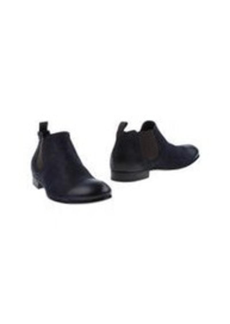 EMPORIO ARMANI - High-top dress shoe