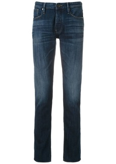 Armani slim faded jeans