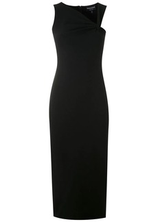 Armani draped neck dress