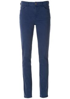 Armani straight-leg blue-wash trousers