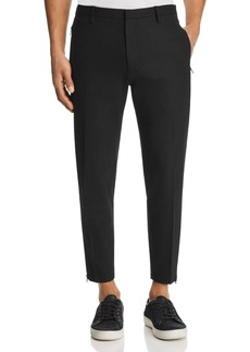 Emporio Armani Ankle Zip Jogger Pants