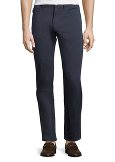 Armani Basic Five-Pocket Sateen Pants