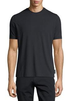Armani Basic Short-Sleeve Solid Crewneck T-Shirt
