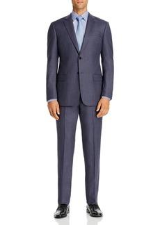 Emporio Armani Birdseye Virgin Wool Regular Fit Suit