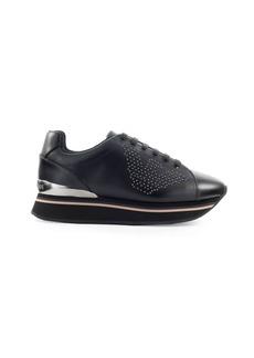 Emporio Armani Black Silver Sneaker