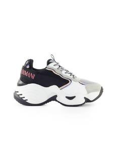 Emporio Armani Blue Grey White Chunky Sneaker