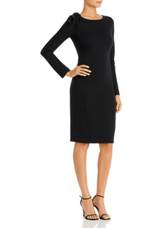 Emporio Armani Body-Con Dress with Shoulder Detail