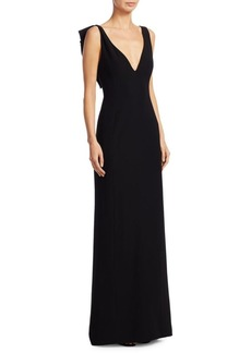 Armani Butterfly Back Gown