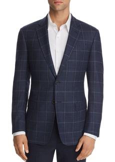 Emporio Armani Check Regular Fit Jacket