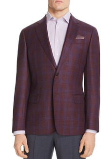Emporio Armani Checked Regular Fit Tailored Jacket
