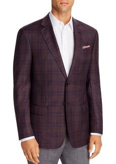 Emporio Armani Checked Virgin Wool Regular Fit Blazer
